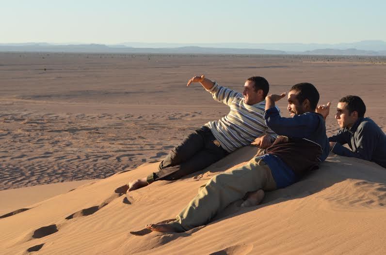 Mirages du désert