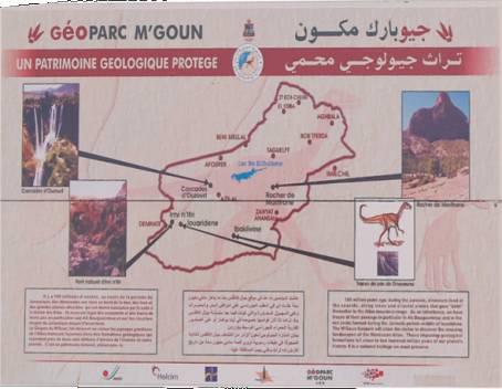 Géoparc du Mgoun